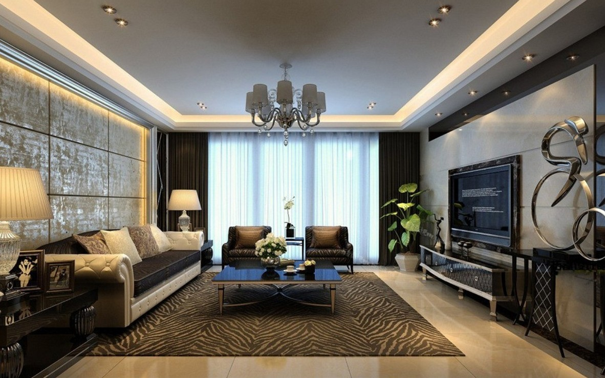 Living Room Wall Decor Design