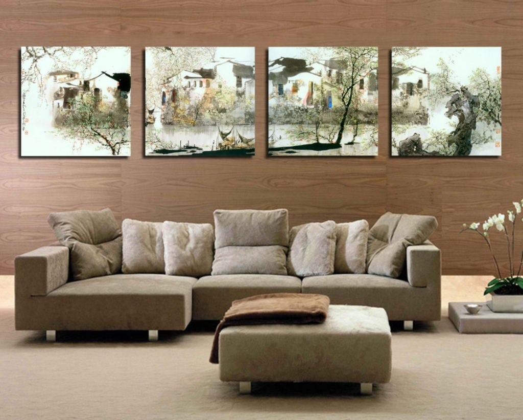 Image of: Living Room Wall Decor Ideas Modern