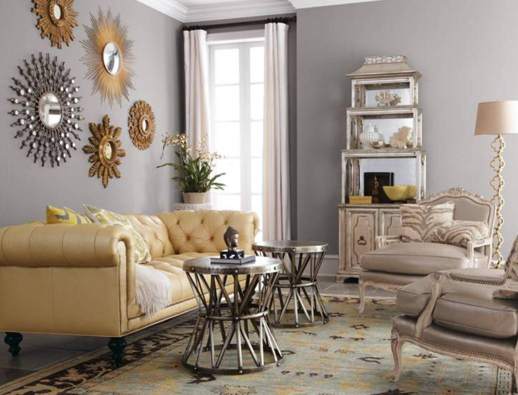 Image of: Living Room Wall Decor Pictures
