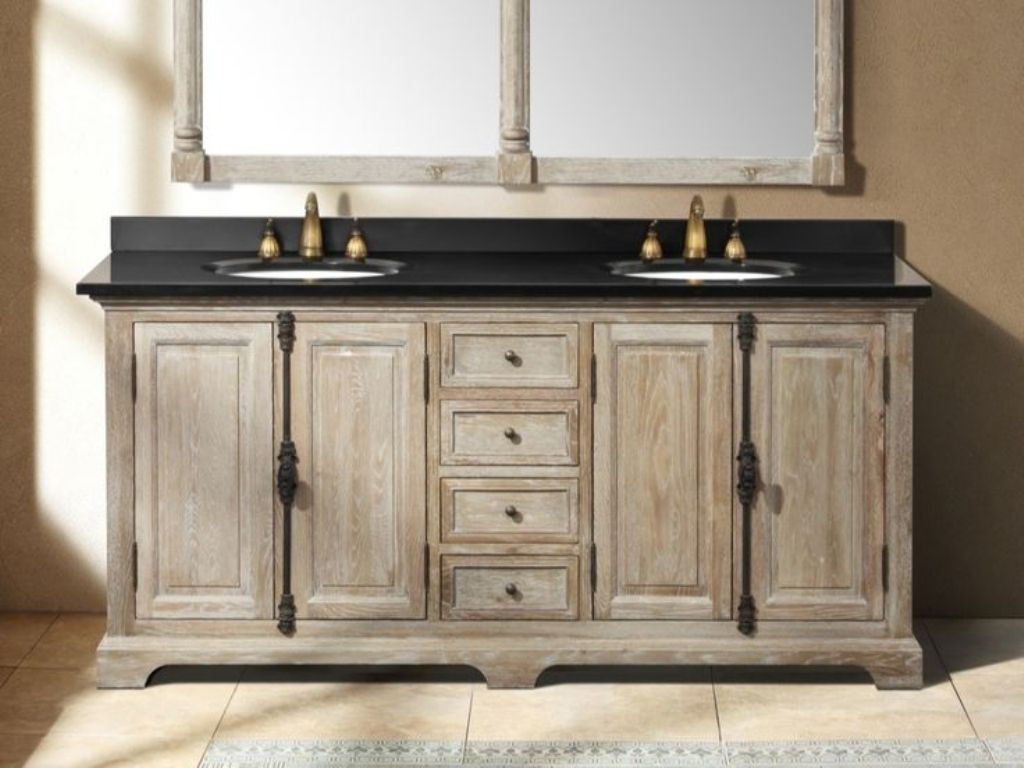 Image of: Lowes Bathroom Vanity Cheap