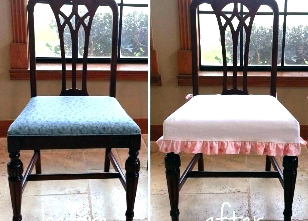 Image of: Make Easy Dining Room Chair Covers