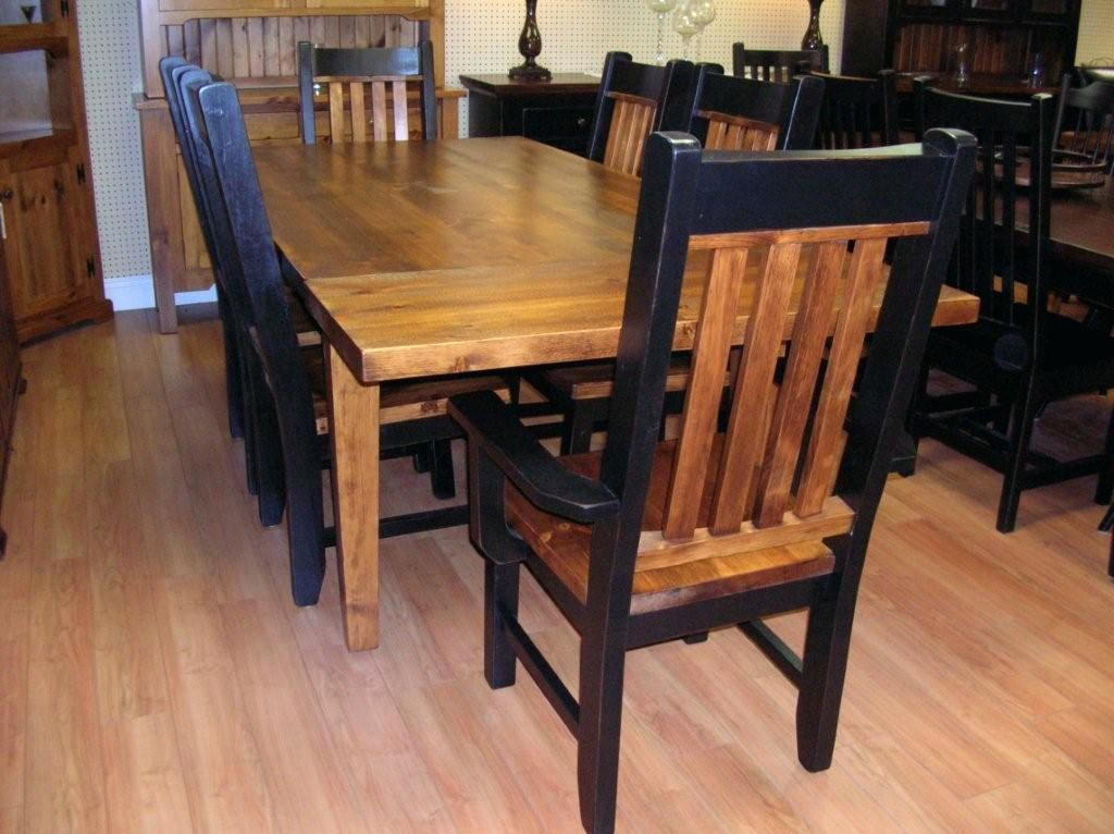 Image of: Making a Rustic Dining Room Table
