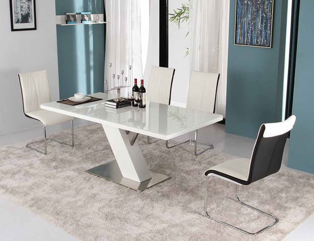 Image of: Modern Dining Room Sets Cheap