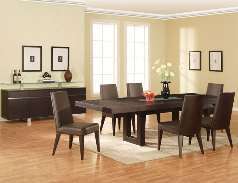 Image of: Modern Dining Room Sets near Me