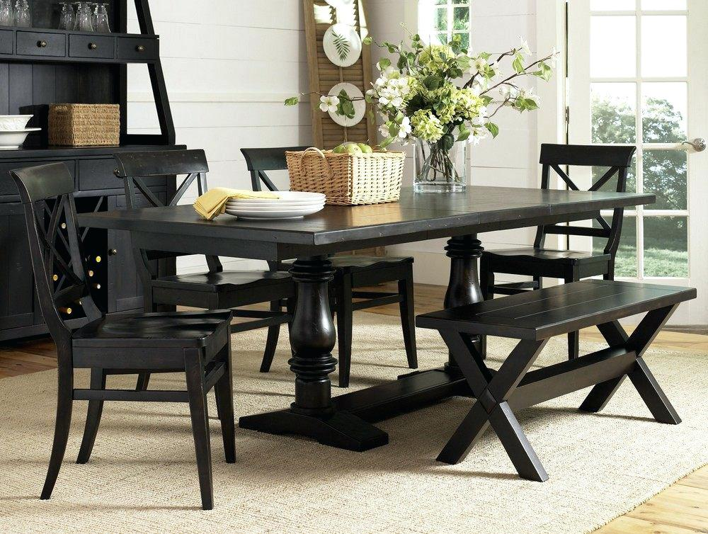 Image of: Next Dining Room Table with Bench