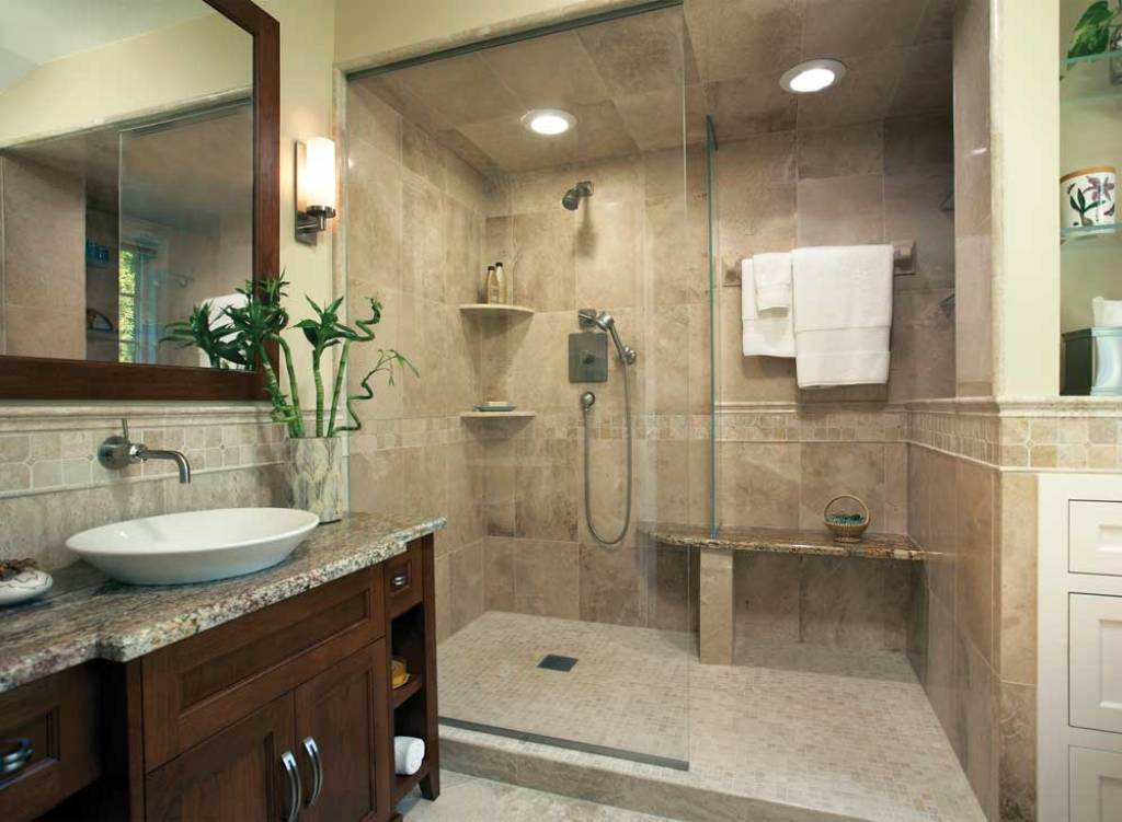 Image of: Painting a Small Bathroom Ideas