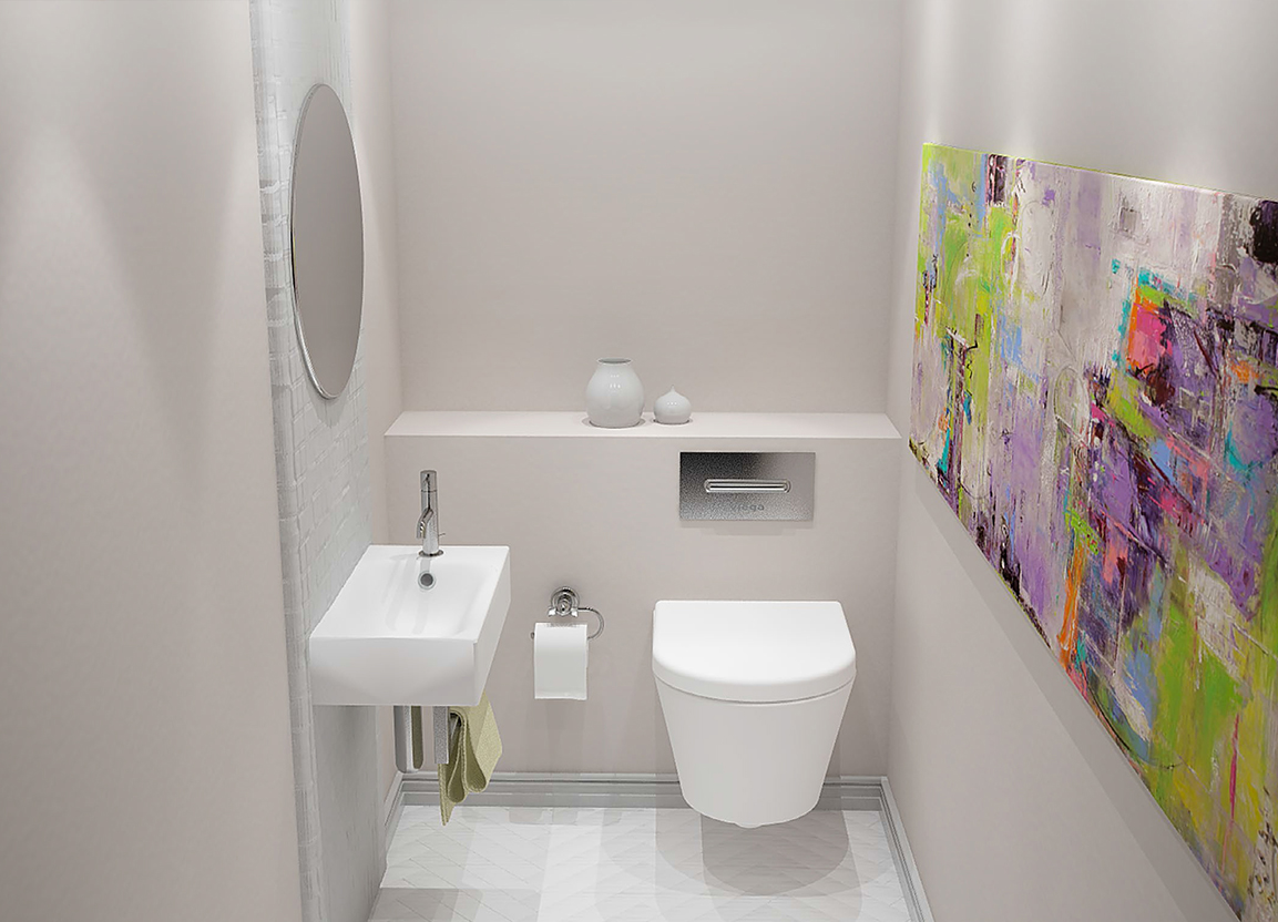 Image of: Small Bathroom Ideas Apartment
