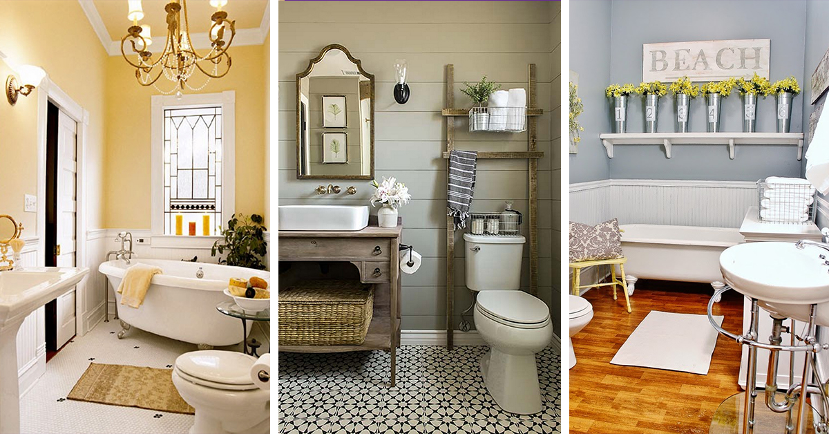 Image of: Small Bathroom Ideas and Colours