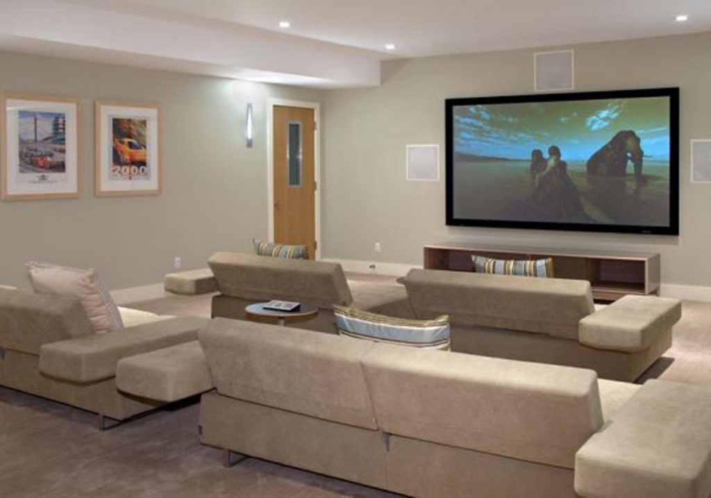 Decorating Ideas Of Living Room Theater