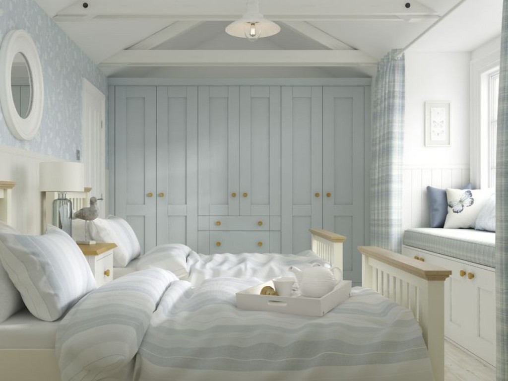 Bedroom In French Grey